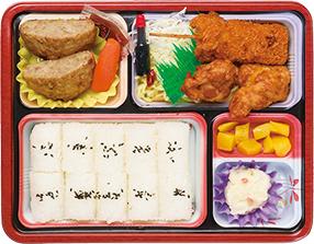 串カツ&ハンバーグ弁当 B
