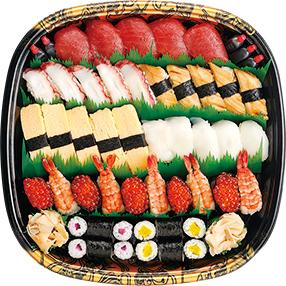 勝進寿司盛り