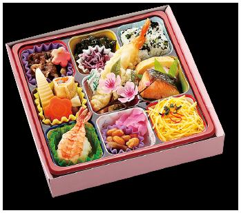 お花見弁当「い」(和菓子付)