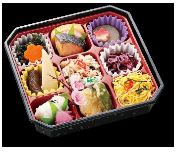 お花見弁当「ろ」(和菓子付)