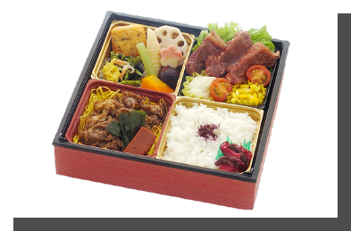 近江牛すきやき&国産牛ステーキ弁当