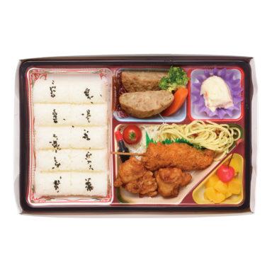 串かつ&ハンバーグ弁当(A)